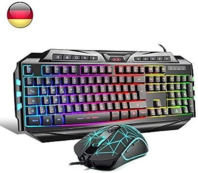 Pack teclado + ratón gaming HAVIT Rainbow Conjunto de