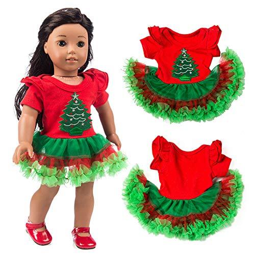 Xmas Tree Tutu Dress