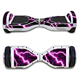FBSport 6.5 inches Self Balancing Scooter Sticker Decal Protective Vinyl Skin Two Wheels Wrap Cover Case Hoverboard Multicolor( Lightning )