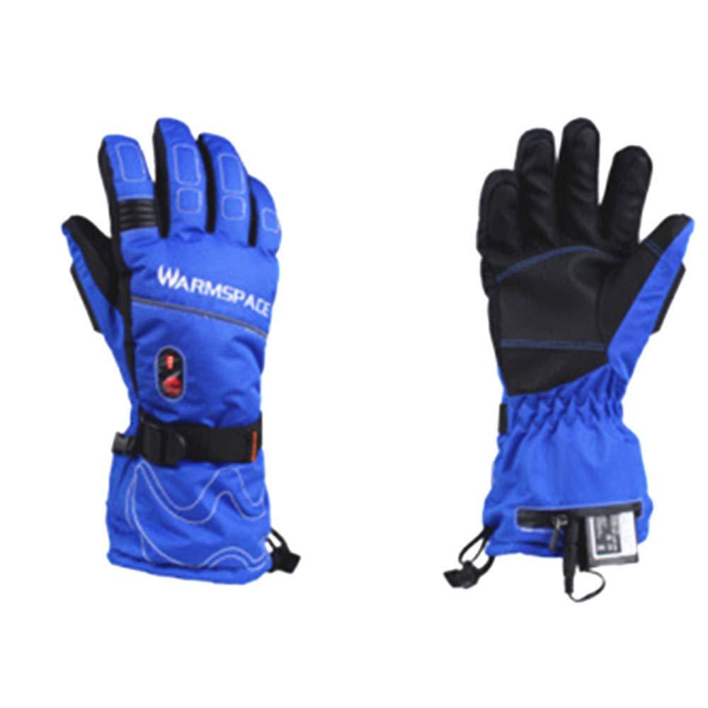 Winter-Handwärmer-Handschuhe Beheizte Handschuhe mit wiederaufladbarer Lithium-Ionen-Batterie für Männer und Frauen, warme Handschuhe zum Radfahren Motorrad Wandern Skifahren Bergsteigen Snowboardjag