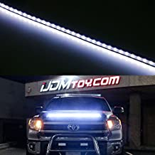 iJDMTOY Xenon White 63-SMD Flexible LED Hood Bulge Strip For 2014-up Toyota Tundra