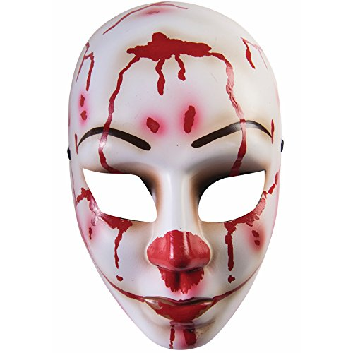 Female Bloody Mess Adult Face Mask