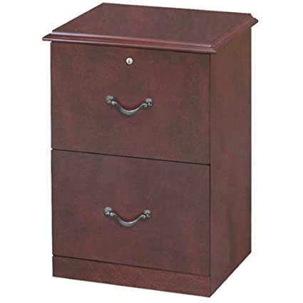 Solid Wood Lateral File Cabinet 2 Drawer With Hutch Contemporary Wood  Veneer Letter Legal Size Hanging