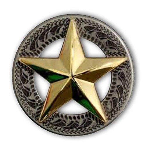(3-D Texas Star Concho 1
