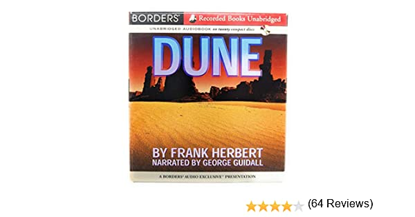Dune Dune by Frank Herbert, Narrated by George Guidall: Amazon.es: Frank Herbert: Libros