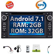 Eincar Android 7.1 Nougat Car DVD Player for TOYOTA Corolla EX 6.2'' Touch Screen Car Stereo with GPS Navigation In Dash Bluetooth Headunit Support Mirror-link/OBD2/1080P Video/WiFi/AM/FM Radio