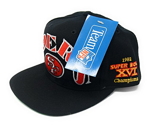 San Francisco 49ers Superbowl Patch Deadstock Vintage Snapback - Deadstock Vintage Snapbacks