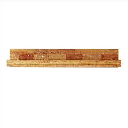 Amazon.com: PM-Borders MEGU Solid Wood Wall Shelf Wall Mount ...