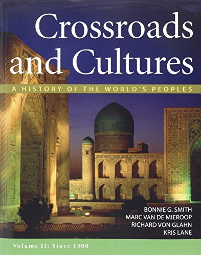 Crossroads and Cultures V2 & Sources of Crossroads and Cultures V2