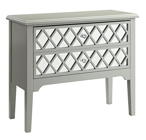 HOMES: Inside + Out Reyna Hallway Cabinet, Gray