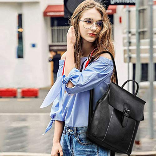 AEGBW Women's Pu Leather Fashion Backpacks Purse Convertible Ladies Casual Shoulder Bag School Bag for Girls by AEGBW (Image #9)