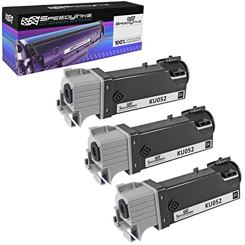 Speedy Inks Compatible Toner Cartridge Replacement for Dell 1320 High Yield (Black, 3-Pack) (Dell Dt615)