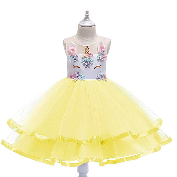 OwlFay Bebe Niña Tutu Princesa Vestido de Unicornio ...