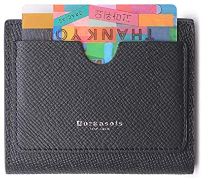 Women's RFID Small Bifold Leather Pocket Wallet Ladies Mini Purse with id Window and Zip Coin Pouch