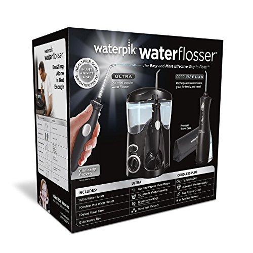 Waterpik Ultra Water Flosser Combo, Black by Waterpik