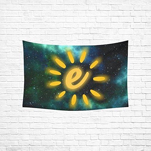 MOVTBA Energy Turn Pear Energy Revolution Light Bulb Sun Tapestry Abstract Painting Tapestry Wall Hanging Art For Living Room Bedroom Dorm Home Decor 60