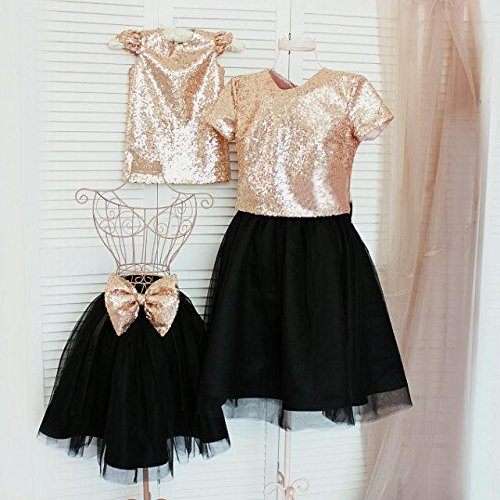 Amazon.com  Gold mother daughter matching dresses 1f00e30f9
