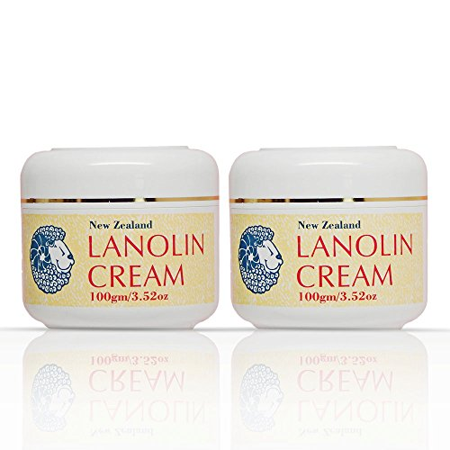 Lanolin Natural (Pure And Simple New Zealand Lanolin Cream - Moisturize, Nourish, and Condition Your Skin - Hydrates and Protects Dry Skin, Essential Lanolin for Face, Neck, and Hands (Pack of 2))