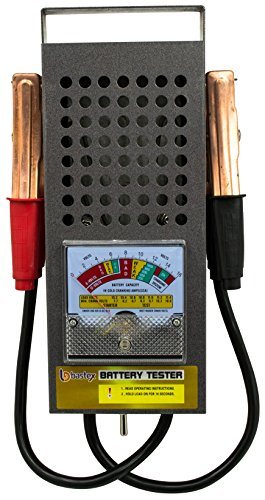 Read About Bastex BT-100 6V/12 100 Amp Battery Load Tester with Heavy Duty Insulated Copper Clips and Carrying Handle for Automotive Repair