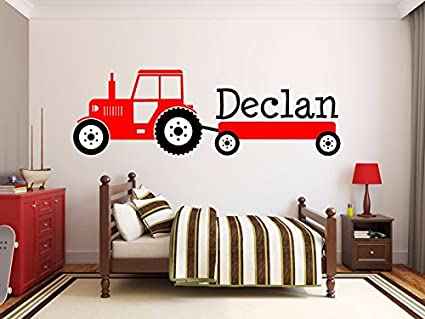 amazon com custom product for personalized name interesting tractor