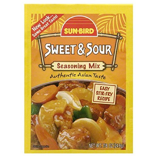 Sunbird, Mix, Sweet & Sour, Pack of 24, Size - .88 OZ, Quantity - 1 Case