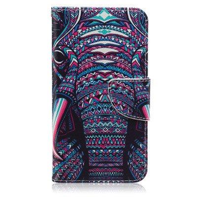 Cuero pintado cajas del teléfono de Samsung Galaxy J3 cubierta de la carpeta 2016 Caso 24