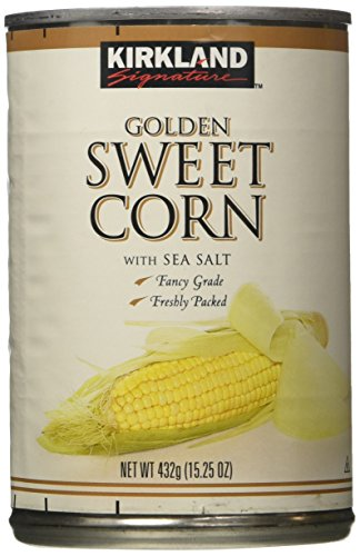 Kirkland Golden Sweet Corn-15.25 oz, 12 ct