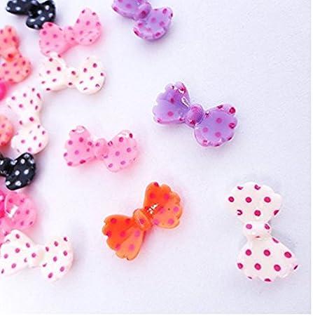 Drove - Corbata de bolas pequeñas 3D para decoración de uñas ...