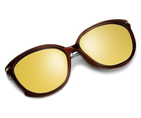 8774be4654127 Diamond Candy anteojos de sol Para Mujer Protección UV anteojos de Ojo de  polarizadas anteojos de