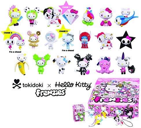 Keychain Choice of One No Boxes Tokidoki Hello Kitty Frenzies Zipper Pulls