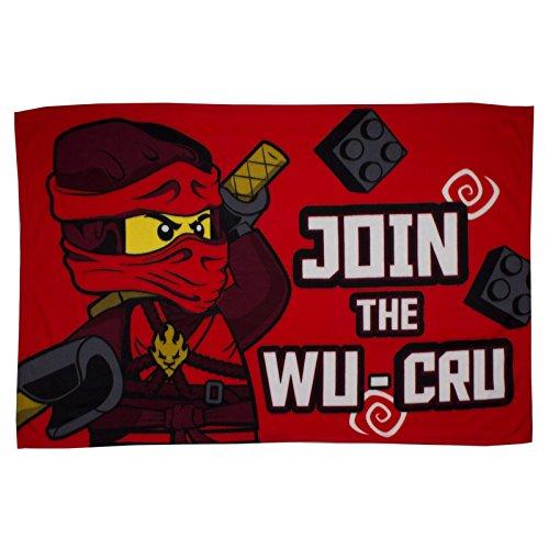 Lego Ninjago Warrior Fleece Blanket