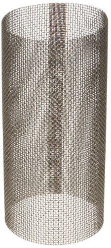 "Asahi America 3182020 Sediment Strainer Replacement Mesh Screen, Stainless Steel 316, For 2"" Strainer, 20 Mesh from Asahi America"