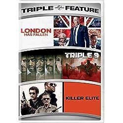 London Has Fallen/Triple 9/Killer Elite Triple Feature