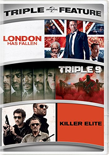 London Has Fallen / Triple 9 / Killer Elite Triple Feature (Robert De Niro Jason Statham Clive Owen)