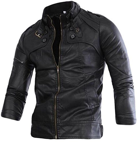 generic-mens-stand-collar-motorcycle-wash-leather-jacket-black-xxxl