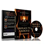 Fireplace DVD - Fireplace TV Jukebox 2 - Choose Out of 9 Modern Fires with Sounds of Flames and Burning Wood