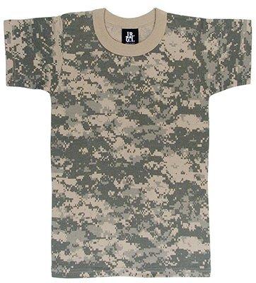 (Rothco Kids T-Shirt - Acu Digital Camo, Small)