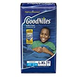 Baby : GoodNites Bedtime Bedwetting Underwear for Boys, L-XL, 11 Ct. (Packaging May Vary)