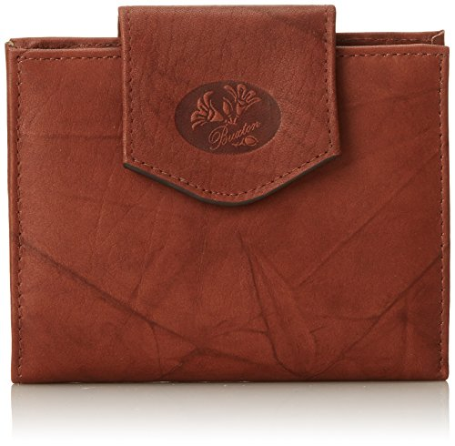 (Buxton Heiress Cardex Wallet, Mahogany, One Size)