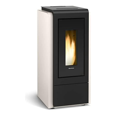 La Nordica – Extra Flame humectante Pellet Horno Megan Idro Steel (12 kW)