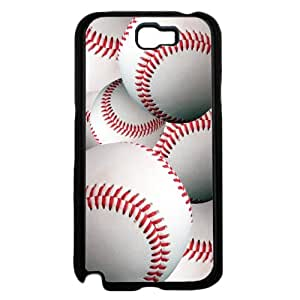 Baseballs in Detail - Plastic Phone Case Back Cover (Galaxy Note 2)