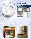 Detector Sensor pérdida Agua Anti Inundación con alarma y sirena 100Decibel a batería