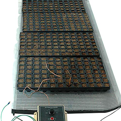 "Ken-Bar Agritape Seed Starting 22"" x 8' Heat Mat with Grounding Screen"