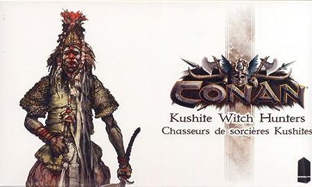 Asmodee – mocon08fr – Conan – Cazadores de Bruja kushites: Amazon ...