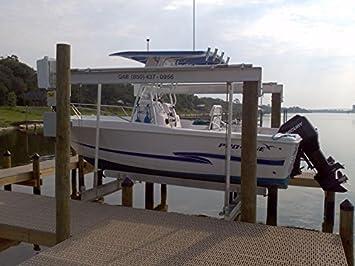 Quality Aluminum Boat Lifts 10KTM, 10000 lb, 4 Pole: Amazon