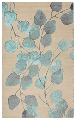 Rugsmith Ficus Modern Floral Area Rug, 7'6