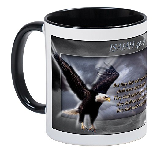 CafePress ISAIAH 40:31 Mug Unique Coffee Mug, Coffee Cup