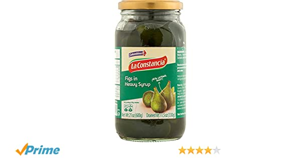 Colombina Dulce de Brevas Figs in Heavy Syrup, 21.2 Ounce: Amazon.com: Grocery & Gourmet Food