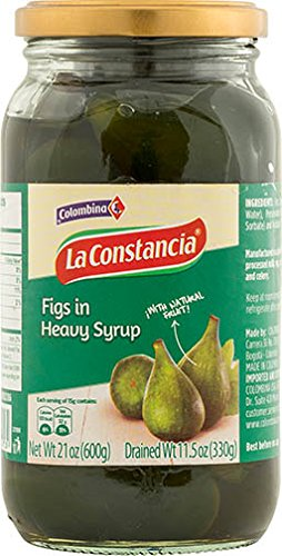 Colombina Dulce de Brevas Figs in Heavy Syrup, 21.2 Ounce