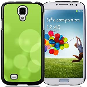 New Beautiful Custom Designed Cover Case For Samsung Galaxy S4 I9500 i337 M919 i545 r970 l720 With Ios8 Clean Cyan Background Bubble Phone Case
